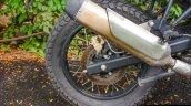 2017 Royal Enfield Himalayan Fi rear wheel
