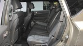 2017 Ssangyong Rexton rear seat at IAA 2017