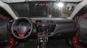 2017 Toyota Corolla X (facelift) dashboard
