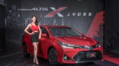 2017 Toyota Corolla X (facelift) front three quarters launch event