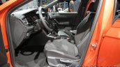 2017 VW Polo TGI R-Line front seats at the IAA 2017