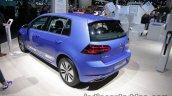 2017 VW e-Golf rear three quarters at the IAA 2017