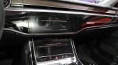 2018 Audi A8 centre console at the IAA 2017