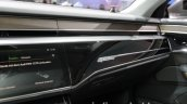 2018 Audi A8 dashboard passenger side at the IAA 2017