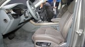 2018 Audi A8 front seats at the IAA 2017
