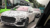 2018 Audi Q8 spotted in China front three quarters