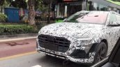 2018 Audi Q8 spotted up close in China front view