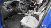 2018 Audi RS4 Avant front seats at the IAA 2017
