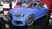 2018 Audi RS4 Avant front three quarters at the IAA 2017