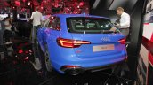 2018 Audi RS4 Avant rear three quarters at the IAA 2017