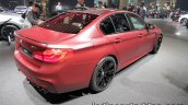 2018 BMW M5 First Edition rear three quarters at the IAA 2017 - Live