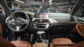 2018 BMW X3 dashboard at IAA 2017
