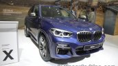 2018 BMW X3 front three quarters left at IAA 2017