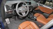 2018 BMW X3 interior dashboard at IAA 2017