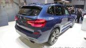 2018 BMW X3 rear three quarters at IAA 2017