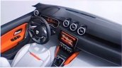 2018 Dacia Duster (2018 Renault Duster) interior leaked sketch