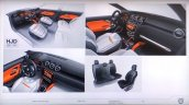 2018 Dacia Duster (2018 Renault Duster) interior sketch leaked