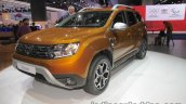 2018 Dacia Duster front three quarters right at IAA 2017