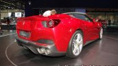 2018 Ferrari Portofino rear three quarters