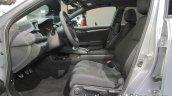 2018 Honda Civic diesel front seats at IAA 2017