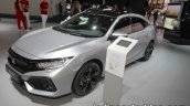 2018 Honda Civic diesel front three quarters at IAA 2017