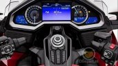 2018 Honda Goldwing leaked red instrument cluster