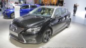 2018 Lexus CT 200h front three quarters at IAA 2017