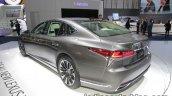 2018 Lexus LS rear three quarters at IAA 2017