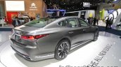2018 Lexus LS rear three quarters right at IAA 2017