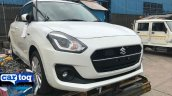 2018 Maruti Swift Spotted in India front three quarter