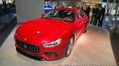 2018 Maserati Ghibli GranSport front quarter at IAA 2017