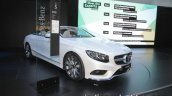 2018 Mercedes S-Class Cabriolet parked at IAA 2017