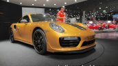 2018 Porsche 911 Turbo S Exclusive Series bumper at the IAA 2017
