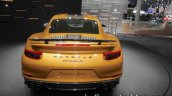2018 Porsche 911 Turbo S Exclusive Series rear at the IAA 2017