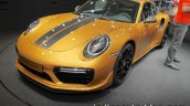 2018 Porsche 911 Turbo S Exclusive Series stripe at the IAA 2017