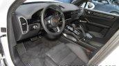 2018 Porsche Cayenne Turbo dashboard at IAA 2017