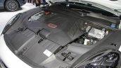 2018 Porsche Cayenne Turbo engine compartment at IAA 2017