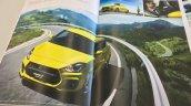 2018 Suzuki Swift Sport exterior leaked brochure image