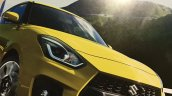2018 Suzuki Swift Sport leaked brochure image