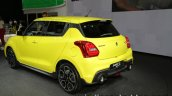2018 Suzuki Swift Sport rear three quarter angle at IAA 2017