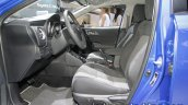 2018 Toyota Auris Hybrid front seats at IAA 2017