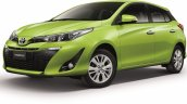 2018 Toyota Yaris Thailand left front three quarters