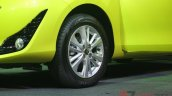 2018 Toyota Yaris Thailand live images alloy wheel