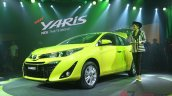 2018 Toyota Yaris Thailand live images front three quarters