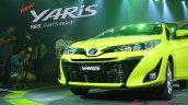 2018 Toyota Yaris Thailand live images grille