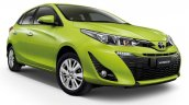 2018 Toyota Yaris Thailand right front three quarters