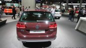 2018 VW Golf Alltrack rear at the IAA 2017