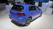 2018 VW Golf GTE rear three quarter at the IAA 2017