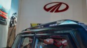 Accessorised Mahindra TUV300 roof rack at Nepal Auto Show 2017