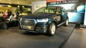 Audi Q7 Petrol 40 TFSI left front three quarters